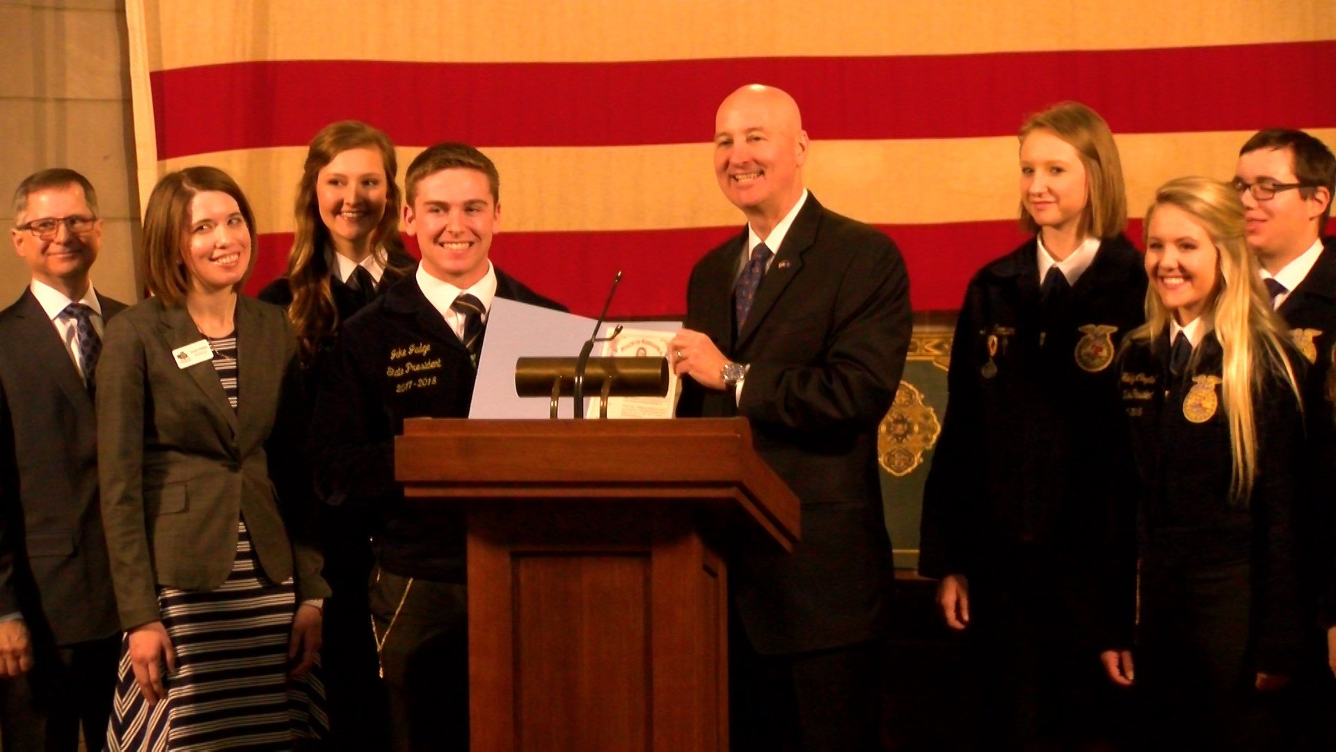 Concordia students celebrate FFA Week