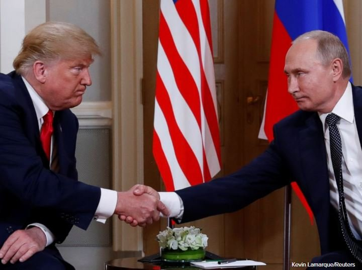 Trump And Putin Meet One On One In Helsinki Finland
