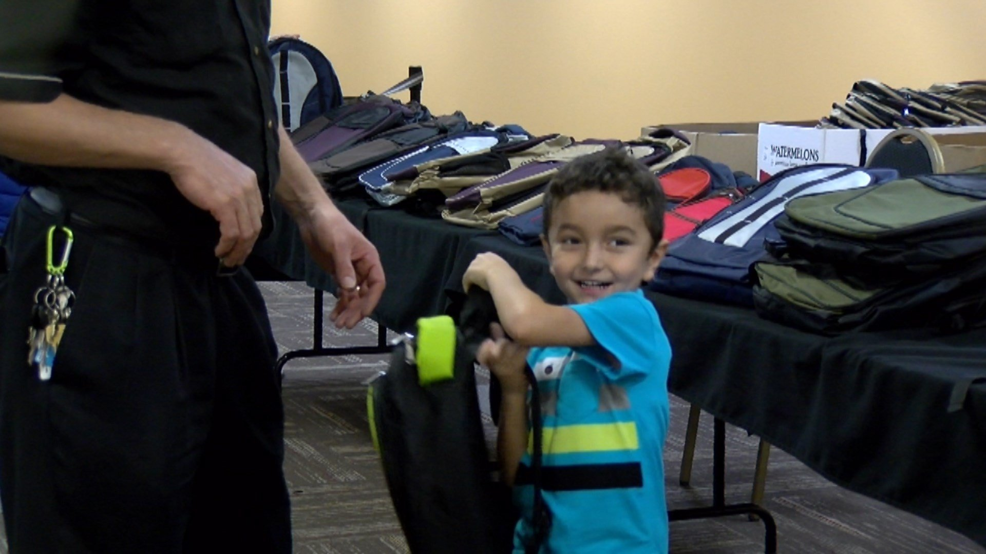 Center For People In Need Hands Out Backpacks News