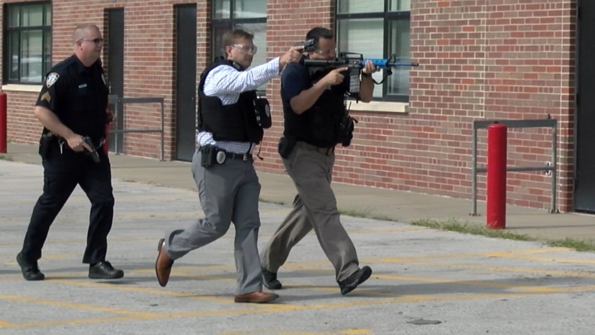 Lincoln Southeast High School Hosts Active Shooter