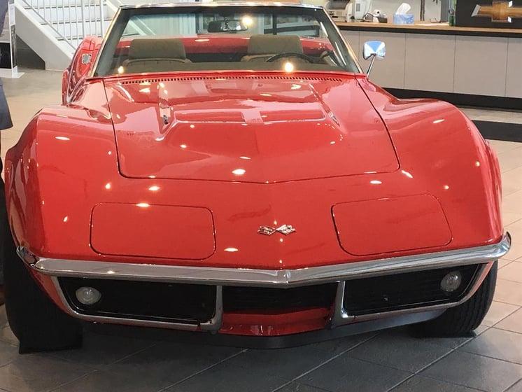 Chevys Lincoln Ne >> Capital Humane Society 69 Chevy Corvette Raffle Klkn Tv
