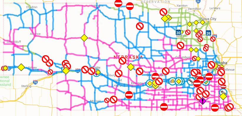 UPDATE: Travel conditions continue to deteriorate across the ...