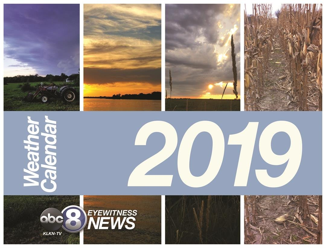 2019 Channel 8 Weather Calendar Klkn Tv News Weather