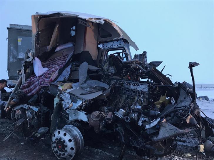 NSP: No injuries following multi-semi crash near Giltner - KLKN-TV