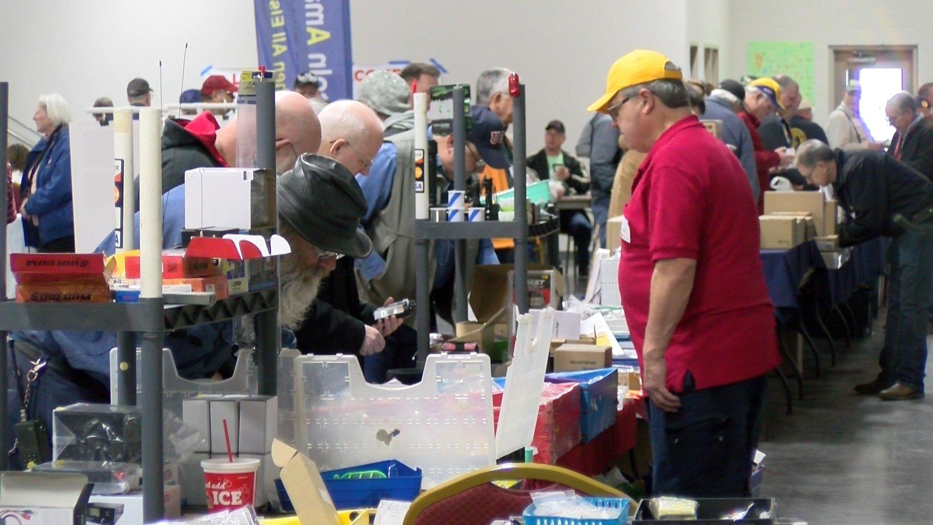 Lincoln hosted the Nebraska Hamfest at the Lancaster Event Center
