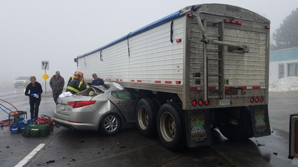 Lincoln Woman Seriously Injured In Foggy Crash Near Cortland Klkn