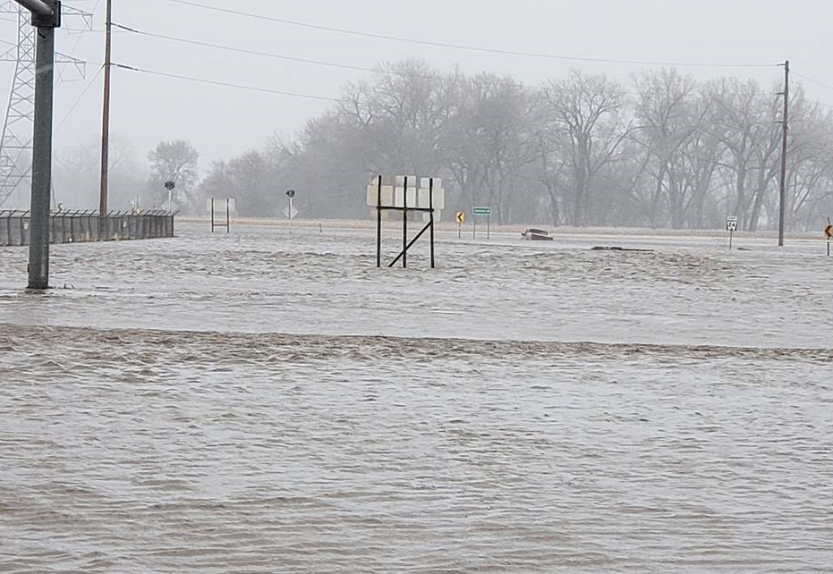 flooding and blizzard pictures from across nebraska