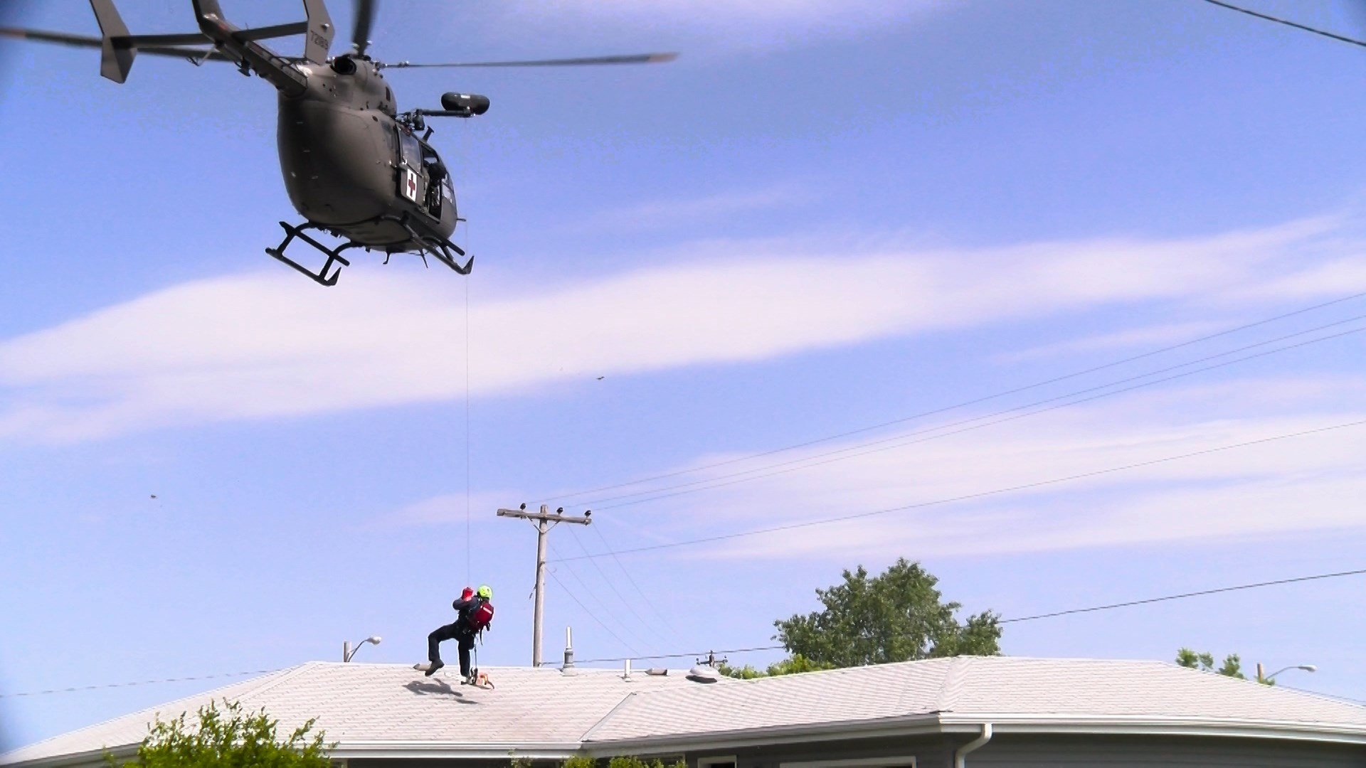NE Task Force 1, National Guard train on air rescues that
