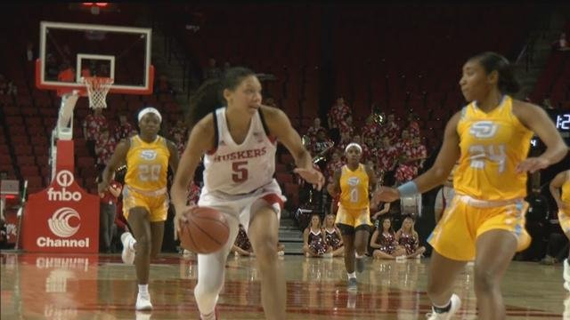 Husker women starting to click with unblemished record