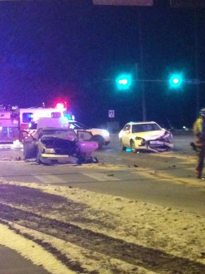 2 Car Crash At 84th And Adams Klkn Tv News Weather And Sports
